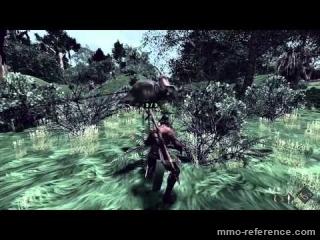 Vidéo The Stomping Land - Attraper un Styracosaurus au lasso