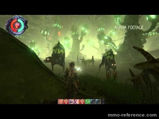 Vidéo Origins of Malu - Scène de combat du mmo