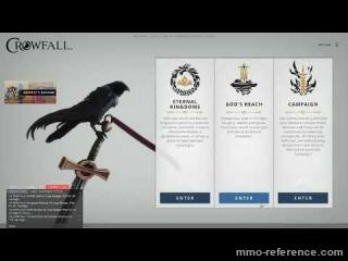 Vidéo Crowfall - Gameplay du MMORPG 2020 tant attendu