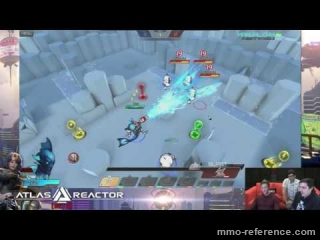 Vidéo Atlas Reactor - Livestream sur Twitch