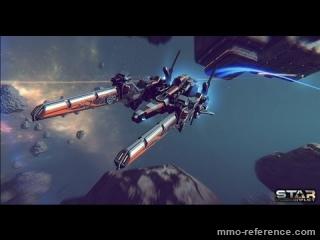 Vidéo Star Conflict - Vaisseau - Golden Eagle