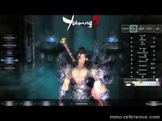 Vidéo Yulgang 2 - La création et customisation du personnage RPG