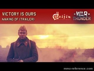 Vidéo War Thunder - La victoire nous appartient - Magnifique cinématique d'action