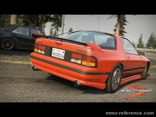 Vidéo World of Speed - La Mazda RX-7 (FC3S)