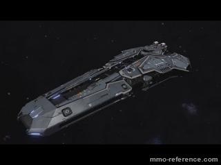Vidéo Elite Dangerous 1.5 - Le vaisseau Federal Corvette
