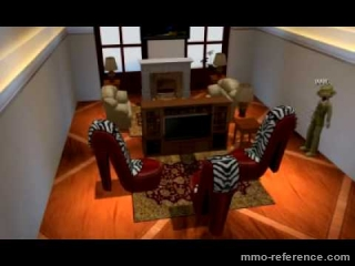 Vidéo Onverse - Jeu de vie virtuel pour fille - Décorez votre intérieur