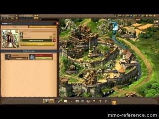 Vidéo Apercu des villes et des constructions dans Tribal wars 2