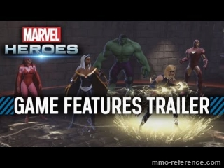 Vidéo Marvel Heroes - Caractéristiques du jeu vidéo en ligne