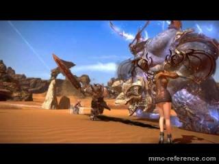 Vidéo Tera - Les monstres Kumas dans le monde de TERA