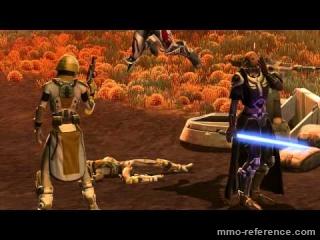 Vidéo SWTOR - Evolution du Guerrier Sith dans le jeu