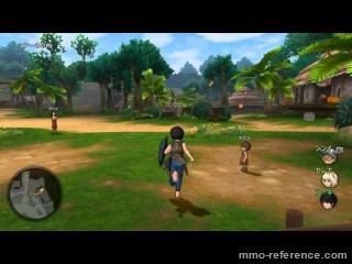 Vidéo Dragon Quest X Online - Découverte du jeu