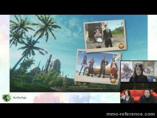 Vidéo ArcheAge - Livestream du MMORPG 31-03-2016
