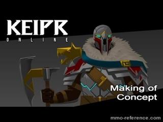 Vidéo Keipr Online -  Concept de personnage pour Keipr Online !