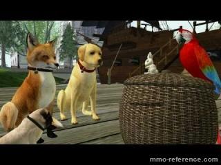 Vidéo Second Life - Adopoter des chiens virtuels, chats, chevaux en ligne