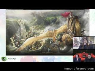 Vidéo ArcheAge - Livestream du MMORPG 08-07-2016