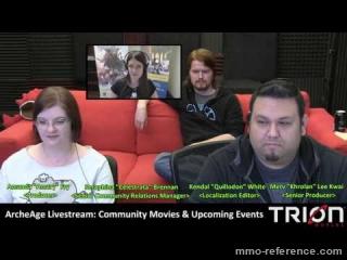 Vidéo ArcheAge Communauté - Livestream du MMORPG 26-06-2016