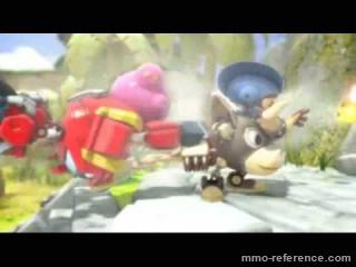 Vidéo Robo Smasher - Cinématique du jeu en ligne gratuit multijoueur