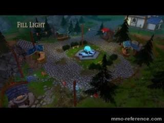 Vidéo Shards Online - Graphisme et interface utilisateur du jeu