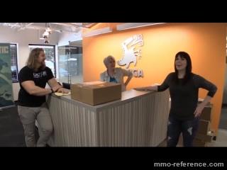 Vidéo Gigantic - Les bureaux de l'équipe du jeu