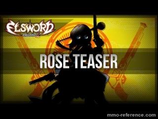 Vidéo Elsword - Trailer du personnage Rose