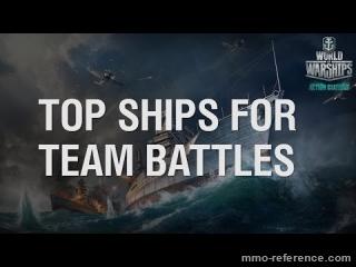 Vidéo Top des bateaux pour les batailles d'équipe dans World of Warships