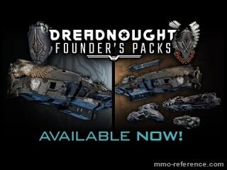 Vidéo Dreadnought - Trailer pour la sortie du premier Pack du mmo