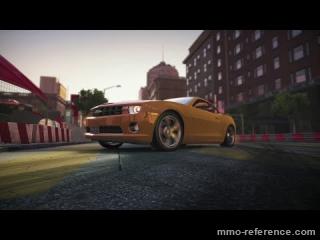Vidéo World of Speed - La Ford Mustang GT contre la Chevrolet Camaro SS