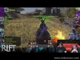 Vidéo Rift - Livestream mmorpg du 1er juillet 2016