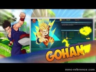 Vidéo Dragon ball  Online - Bande annonce officiel du jeu dbz en ligne