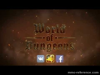 Vidéo World of Dungeons - Trailer du RPG de fantasy sombre