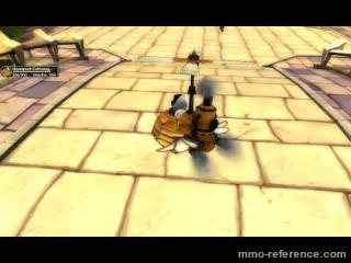 Vidéo Fiesta Online - Un gyrocopter steampunk dans un mmorpg manga !