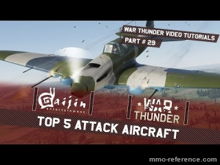 Vidéo Le top 5 des meilleurs attaques d'avion dans War Thunder