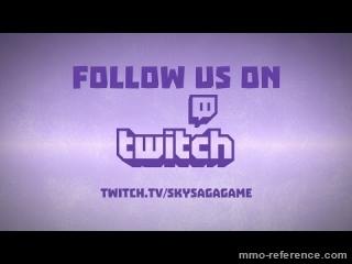 Vidéo SkySaga - Twitch Trailer