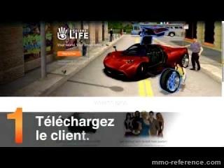 Vidéo Débuter facilement dans le jeu en ligne Second Life