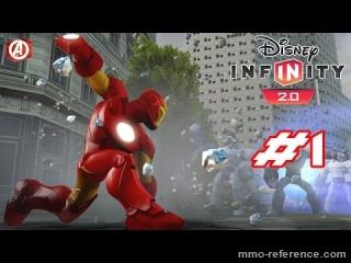 Vidéo Disney Infinity 2.0 - Découvrerte de la mise à jour 2.0