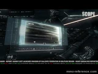 Vidéo Trailer du MMORPG EVE Online Quantum Rise