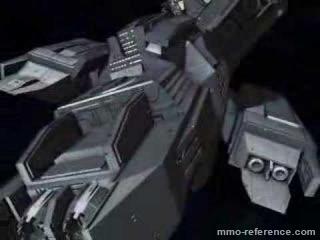 Vidéo Infinity Battlescape - Tour du vaisseau spatial Bellerophon
