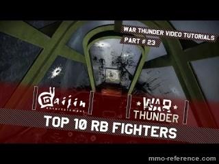 Vidéo Top 10 des avions à piloter dans War Thunder