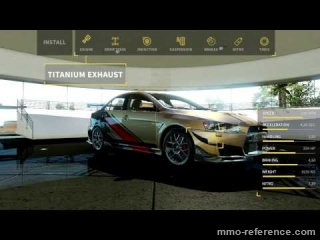 Vidéo World of Speed - La customisation des voitures
