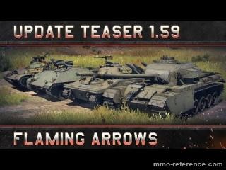 Vidéo War Thunder - La nouvelle mise à jour 1.59 Flaming Arrows arrive bientôt