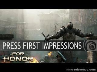Vidéo Premiers avis sur le jeu For honor