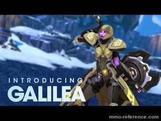 Vidéo Battleborn - Lumière sur le personnage Galilea