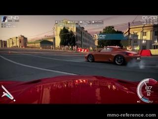 Vidéo World of Speed - Aperçu d'une course rapide dans Moscou