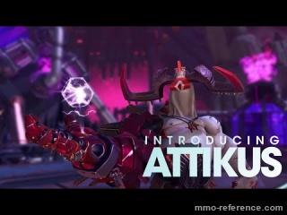 Vidéo Battleborn - Lumière sur le personnage Attikus