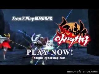Vidéo Onigiri - Voyagez dans les royaumes du Japon Mythique dans un mmorpg