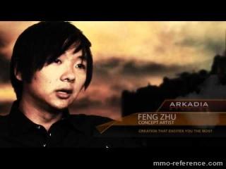Vidéo Planet Arkadia - Interview du directeur artistique