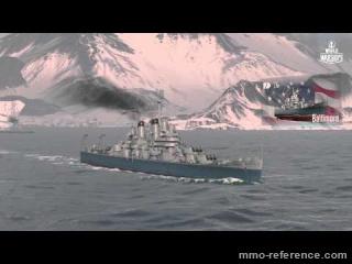 Vidéo World of Warships - La puissance des navires de guerre américains