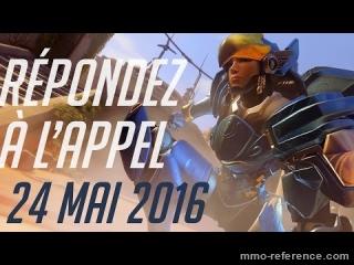 Vidéo Overwatch disponible dès le 24 mai 2016 !