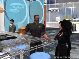 Vidéo Second Life - L'évolution du lieu de travail virtuel
