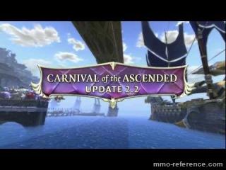 Vidéo Rift - Mise à jour 2.2 Carnival of the Ascended!